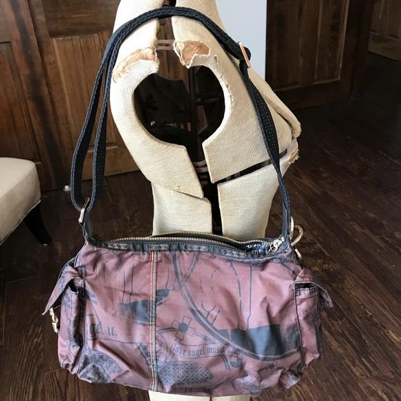 98b1537e41 L.A.M.B. Handbags - Gwen Stefani L.A.M.B. LeSportsac Teak Hobo Bag